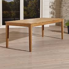 Teak Dining Room Furniture Teak Dining Tables Crate And Barrel