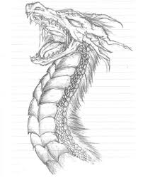 dragon pencil drawings dragon drawing wallpaper for pc 2133
