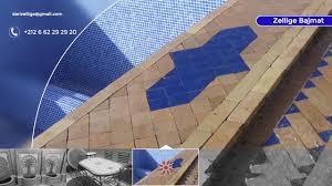 Mosaique Del Sur Zellige Marocain Youtube