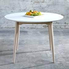 table de cuisine blanche avec rallonge impressionnant table ronde de cuisine blanche avec rallonge et
