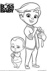 the boss baby and tim templeton coloring pages printable