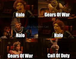 Gears Of War Meme - halo gears of war and call of duty video games