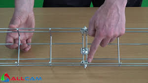 Cable Tray Under Desk How To Mount Allcam Under Desk Basket Cable Tray Cord Management