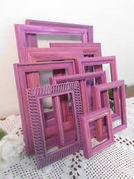 radiant orchid home decor radiant orchid frame set photo picture shabby paris chic french