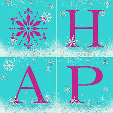 hm gallery snowflake birthday banner