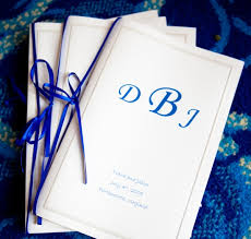 wedding programs diy 4 interesting diy wedding programs to try planning a wedding