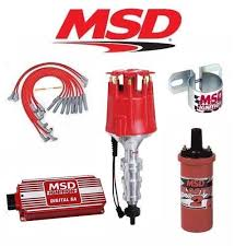 msd 90251 ignition kit digital 6a distributor wires coil ford fe