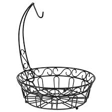 fruit basket stand fruit basket stand w detachable banana hanger best choice products