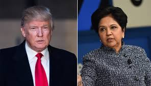trump s pepsico ceo indra nooyi joins trump s business council fortune