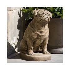 pug garden statue 113 best statues for the garden images on