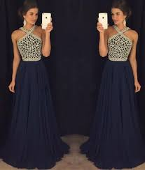 grad gowns blue beaded prom dress for blue formal dress