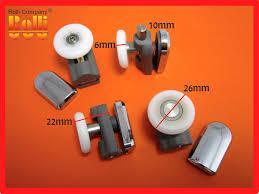 shower door roller parts 4 shower door rollers wheels runners spare parts r19 26mm