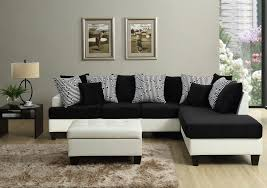 Sofa With Ottoman by Home One Furniture Madrid Sectional Sofa With Free Ottoman