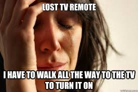 Lost Memes Tv - lost tv remote i have to walk all the way to the tv to turn it on