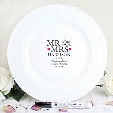 personalized wedding plate gift wedding signature plates atdisability