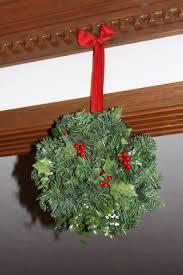 craft u2013 christmas kissing ball the enchanted manor