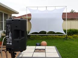 backyards appealing backyard movie theater outdoor night picture