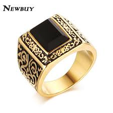 aliexpress buy 2016 new fashion men jewelry black cz aliexpress buy newbuy fashion gold color men engagement