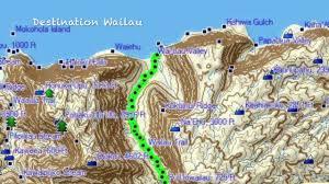 Molokai Map Expedition Wailau Youtube