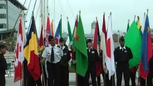 Ceremony Flag United Nations Day Flag Raising Ceremony Youtube