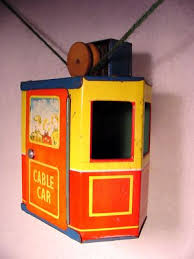 c1940 english windup art deco tin toy