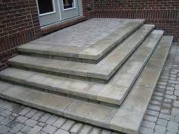 patio steps here are some cascading two sided s