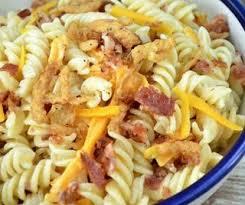 myfridgefood bacon ranch pasta salad