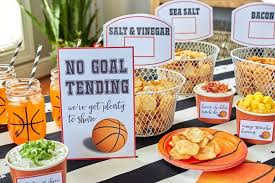 basketball party ideas easy basketball snacks for your party s party ideas