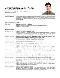 resume format for marine engineering courses sle resume objectives for freshers copy formidable marine