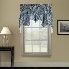 Blue Swag Curtains Buy Blue Swags From Bed Bath Beyond