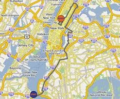 New York City Marathon Map by Pharo Team Is Fundraising For Action For Kids