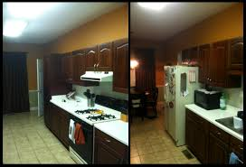 Kitchen Remodel Before And After by Cheap Galley Kitchen Remodel Before And After Galley Kitchen