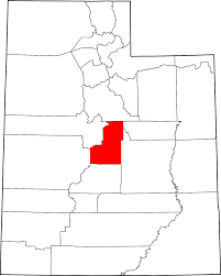 Map Of Northern Utah by National Register Of Historic Places Listings In Sanpete County