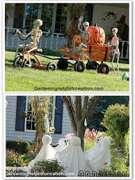 Outdoor Halloween Decorations Easy by Halloween Yard Decorations Best 25 Outdoor Halloween Decorations
