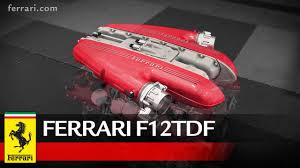 newest ferrari newest ferrari f12tdf is more powerful than ever thanks to the