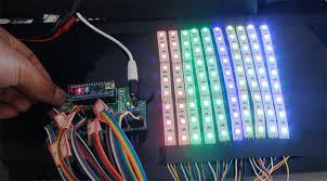 creating rgb light effects using rgb led light strip and