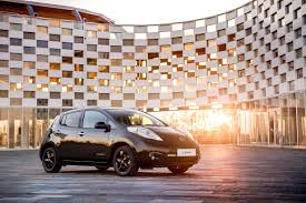 nissan leaf youtube video nissan leaf black edition guaranteed to make you cool launches in uk