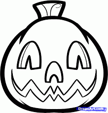 draw a jack o lantern for kids step by step drawing sheets