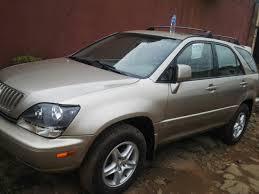 lexus rx 300 luxury welcome to atsa auto u0027s blog lexus rx 300 1999 model tokunbo
