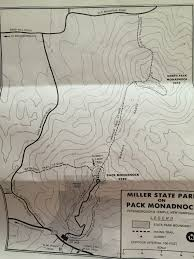 Matthiessen State Park Trail Map by Climbing Pack Monadnock