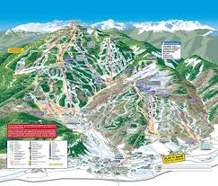 Colorado National Forest Map by Beaver Creek Resort Trail Map Skicentral Com