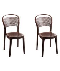 Buy Cane Chairs Online India Cello Miracle Dining Chair Set Of 2 Buy Cello Miracle Dining