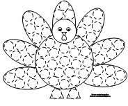 turkey template printable google search holiday projects