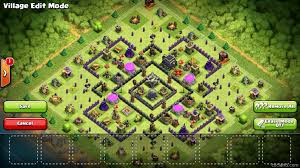 Clash Of Clans Maps Aftershock Maximum Dark Elixir Protection For Town Hall 9