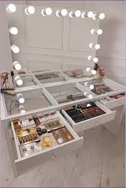 awesome contemporary makeup vanity table foter within popular
