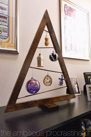the ambitious procrastinator a frame ornament tree