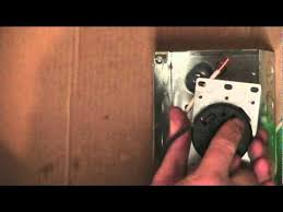 how to wire an rv receptacle youtube