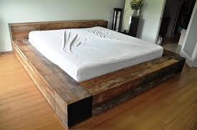 Diy Platform Bed Plans Homemade Platform Bed 15 Diy Platform Beds That Are Easy To Build