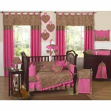 pink crib bedding collection