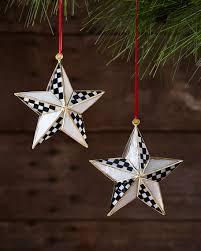 mackenzie childs bright ornaments set of 2 neiman